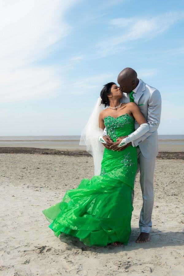 De trouwdag van Avanthika en Agostinho
