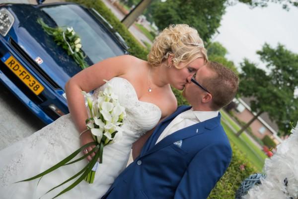De trouwdag van Douwe en Liesbeth