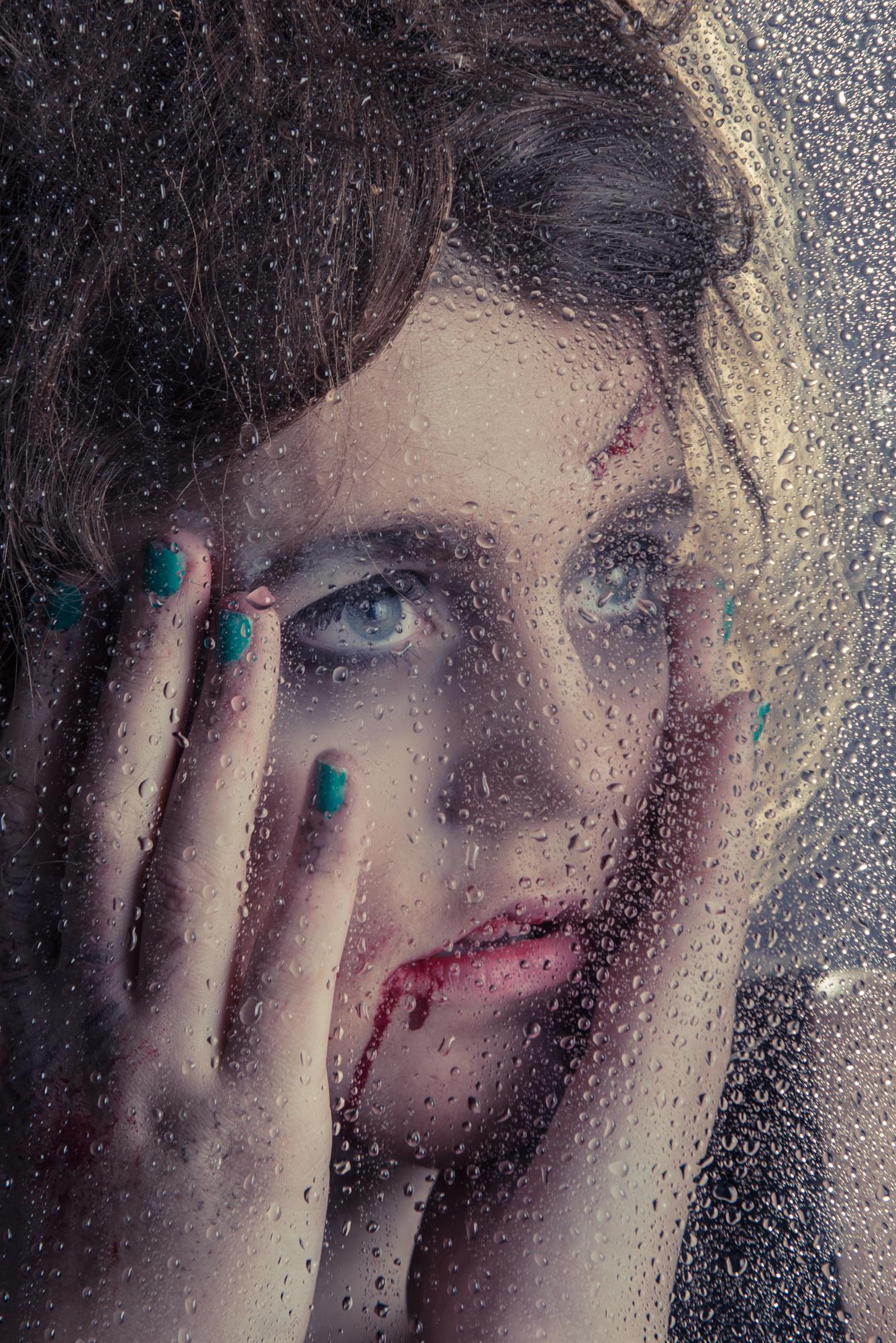 Behind Glass; Afke