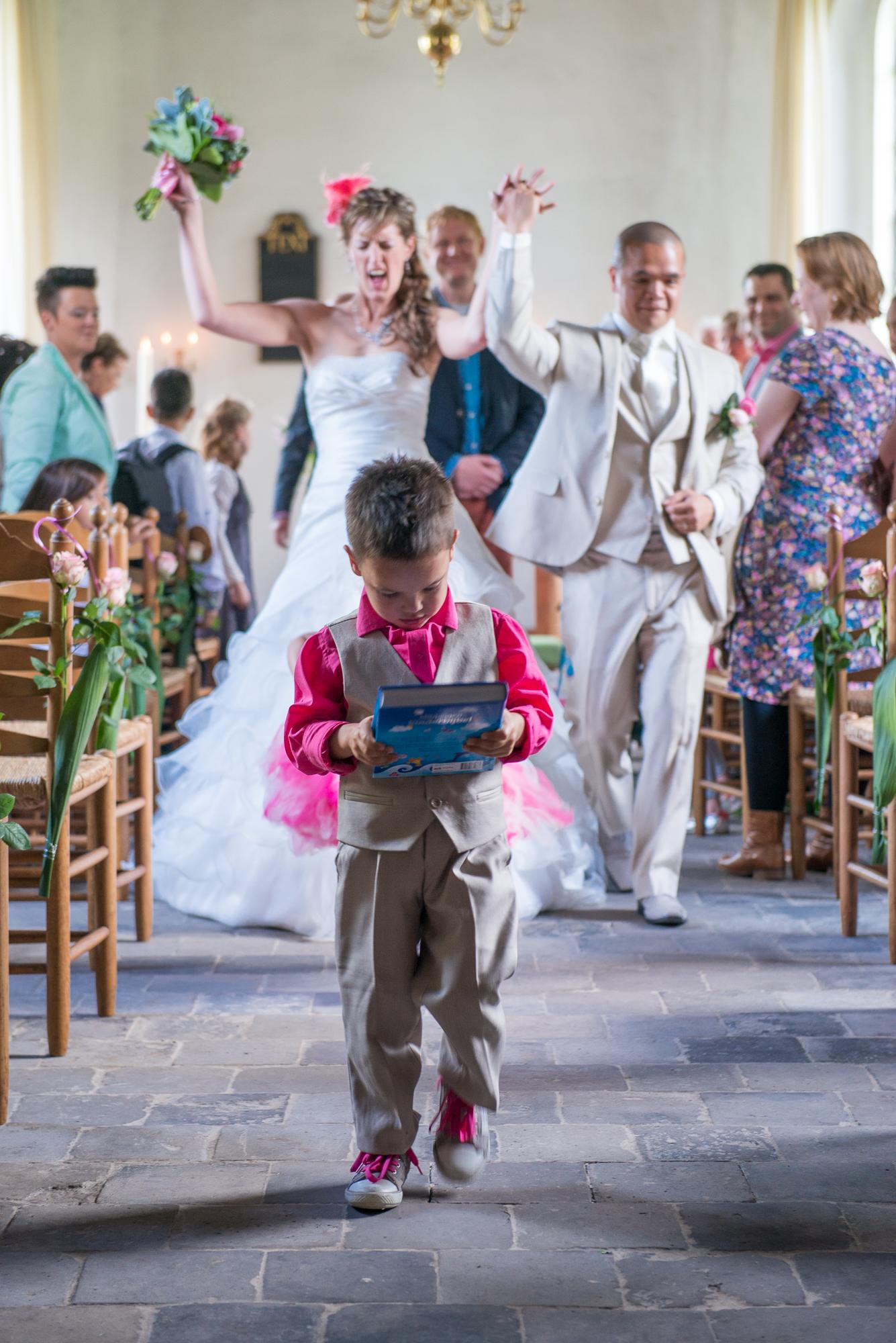 De trouwdag van Ingrid en Budi