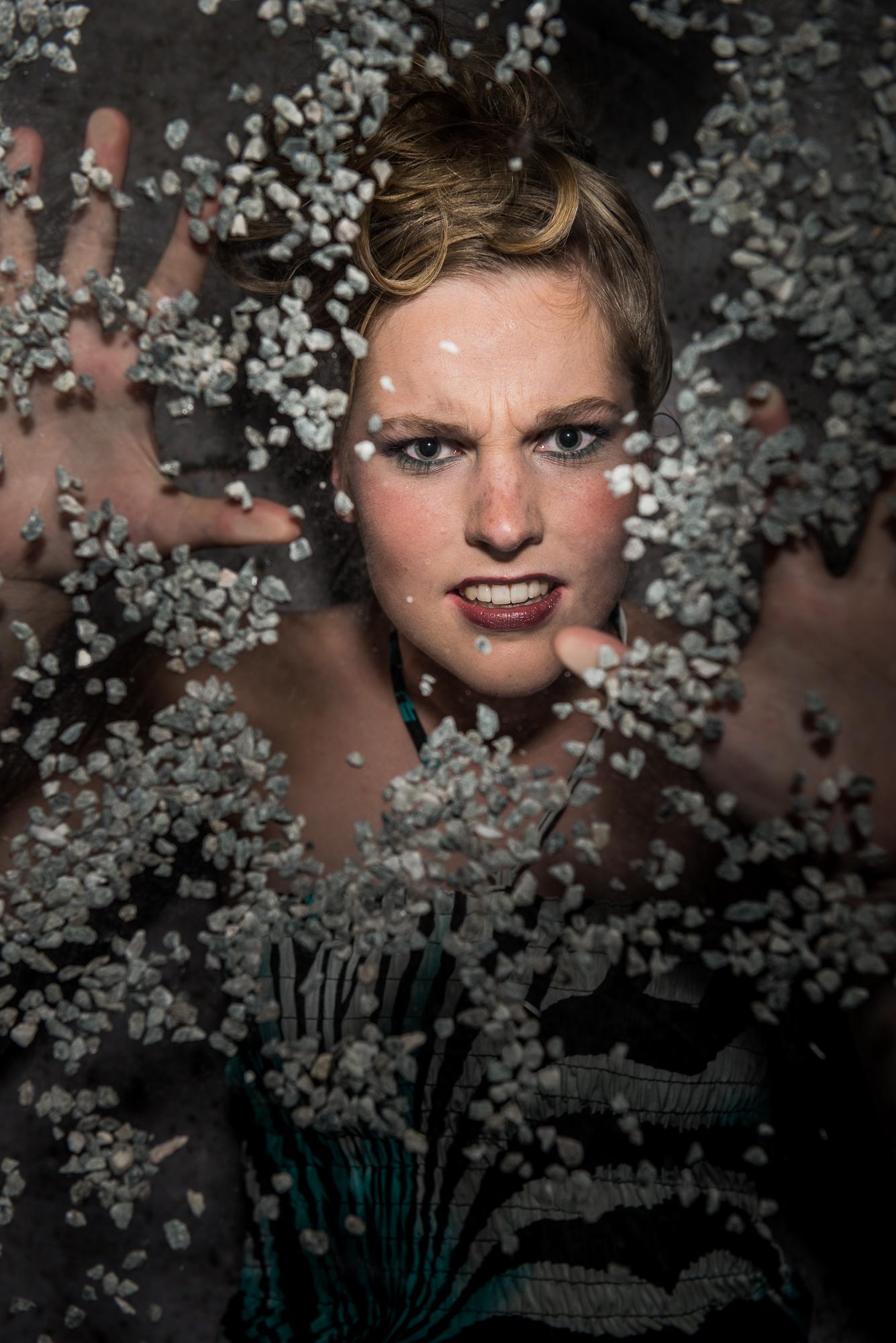 Behind Glass; Hilde